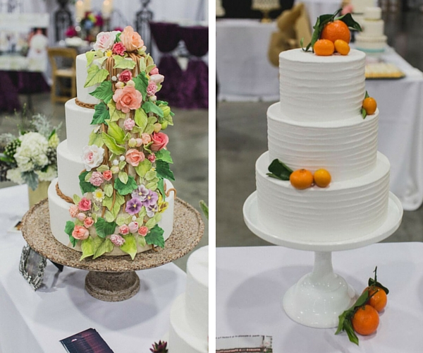 Inspirational Flower Petals Wedding Cakes And Bouquets From The