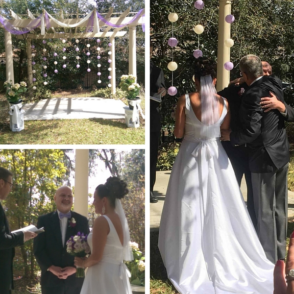 """Springtime Garden Wedding: Gloria """"Coco"""
