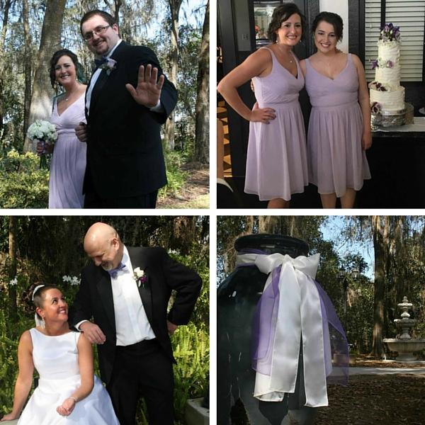 """Real Weddings Blog: Springtime Garden Wedding: Gloria """"Coco"""