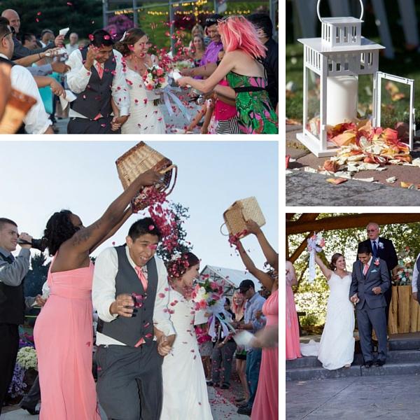 Real Weddings Blog: Peach Dreams Garden Wedding: Tina + Juan