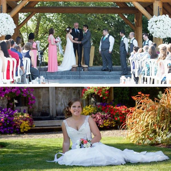 Real Weddings Peach Dreams Garden Wedding Tina Juan
