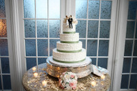 Anita & Diego's Cake Table with Petals