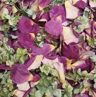 Misbehavin Preserved Freeze Dried Rose & Hydrangea Petals