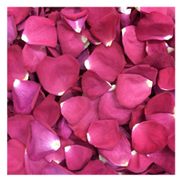 Falling In Love Rose Petals - Preserved Freeze-dried Real Rose Petals. Grown in Oregon. USA.