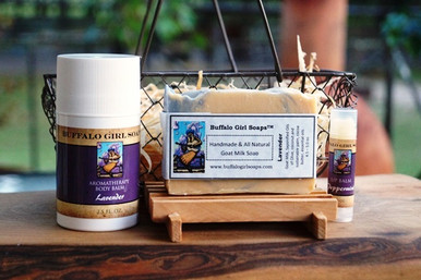 Lavender Lover's Gift Set by Buffalo Girl Soaps