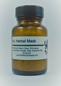 Herbal Mud Mask from Buffalo Girl Soaps