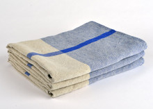 Heavyweight T-Pattern Linen Bath Towel