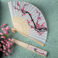 Cherry Blossom Silk Fan Favor