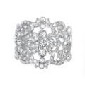 Regal Crystal Cuff Bracelet