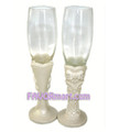 Sweet Love Toasting Flutes - Set of 2