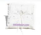 Ivory Flower Love Ring Pillow