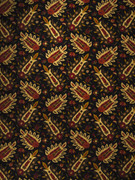 3859201 Step by Step Raven Fabric Vignettes Vol. X 55% Flax, 45% Viscose USA Exceeds 9,000 Double Rubs, Wyzenbeek Method H: 18 inches, V: 18 inches 54 inches - Fabric Carolina - Step Raven