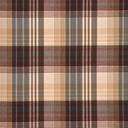 "FD016/584.V78 Ancient Tartan Red/Charcoal by Mulberry Fabric - Wool 100% United Kingdom Medium H"" -, V: 9.85 inches 59.1 inches  - Fabric Carolina -  Mulberry"