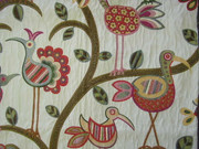 Swavelle Millcreek Crazy Ol Bird Sunrise Animal Bird Fabric