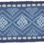FC1002.H10 Kingscote Indigo by Mulberry Fabric Modern Country Cotton 80%, Jute 20% India see sample Horizontal: 4.003 inches and Vertical: 2.1 inches 4.003 inches - Fabric Carolina -