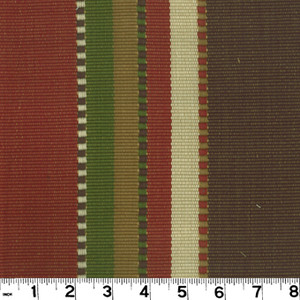 """Apache Red Earth D2450 by Roth and Tompkins Fabric Roth 100% Cotton India - H: 27"""", V: N/A 54"""" - Fabric Carolina - Roth and Tompkins"""