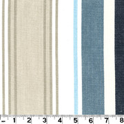 "Bridgewater Lake D3007 by Roth and Tompkins Fabric Roth 100% Cotton India - H: 13 1/2"", V: N/A 54"" - Fabric Carolina - Roth and Tompkins"