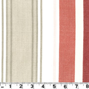 "Bridgewater Cranberry D3009 by Roth and Tompkins Fabric Roth 100% Cotton India - H: 13 1/2"", V: N/A 54"" - Fabric Carolina - Roth and Tompkins"