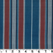 "Brookville Cadet D2942 by Roth and Tompkins Fabric Roth 100% Cotton India - H: 5 3/8"", V: N/A 54"" - Fabric Carolina - Roth and Tompkins"