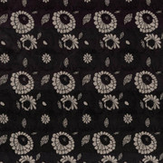 Aalsmeer Garden Noir by Kasmir Fabric 8000 88% Rayon 12% Polyester CHINA 30,000 Wyzenbeek Double Rubs H: 4 4/8 inches, V:7 inches 54 - 56 - Fabric Carolina - Kasmir