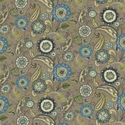 Abberley Nile by Kasmir Fabric 1436 100% Cotton INDONESIA 15,000 Wyzenbeek Double Rubs H: 54 inches, V:27 inches 54 - 55 - Fabric Carolina - Kasmir