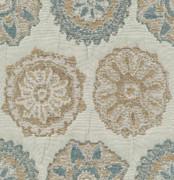 Acra Mist by Kasmir Fabric 1389 54% Polyester 46% Rayon CHINA 48,000 Wyzenbeek Double Rubs H: 9 4/8 inches, V:9 4/8 inches 56 - Fabric Carolina - Kasmir