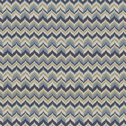 Adderley Monaco Blue by Kasmir Fabric 5072 100% Polyester CHINA 10,000 Wyzenbeek Double Rubs H: 3 6/8 inches, V:7 2/8 inches 54 - Fabric Carolina - Kasmir