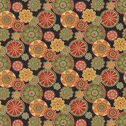 Adelaide Fiesta by Kasmir Fabric 1433 100% Cotton INDONESIA 15,000 Wyzenbeek Double Rubs H: 27 inches, V:27 inches 54 - 55 - Fabric Carolina - Kasmir