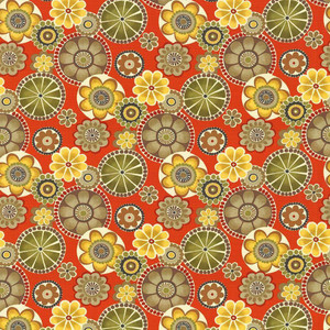 Adelaide Persimmon by Kasmir Fabric 1434 100% Cotton INDONESIA 15,000 Wyzenbeek Double Rubs H: 27 inches, V:27 inches 54 - 55 - Fabric Carolina - Kasmir