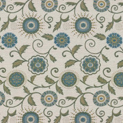 Adored Grotto by Kasmir Fabric 8003 55% Polyester 45% Viscose CHINA 30,000 Wyzenbeek Double Rubs H: 15 inches, V:28 6/8 inches 54 - 55 - Fabric Carolina - Kasmir