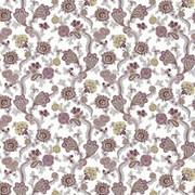 Afton Garden Damson by Kasmir Fabric 1427 100% Cotton TURKEY Not Tested H: 27 2/8 inches, V:25 2/8 inches 55 - Fabric Carolina - Kasmir