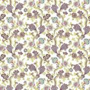 Afton Garden Tutti Frutti by Kasmir Fabric 1427 100% Cotton TURKEY Not Tested H: 27 2/8 inches, V:25 2/8 inches 55 - Fabric Carolina - Kasmir