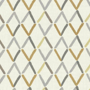Aldwych Trellis Canary by Kasmir Fabric 1434 88% Polyester 12% Cotton Embroidery Contents 100% Polyester INDIA Not Tested H: 17 2/8 inches, V:9 inches 54 - 56 - Fabric Carolina - Kasmir