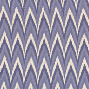 Ankara Ikat Porcelain by Kasmir Fabric 1419 100% Cotton INDIA 7,000 Wyzenbeek Double Rubs H: 4 4/8 inches, V:9 inches 54 - 55 - Fabric Carolina - Kasmir