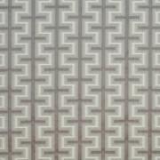 Athenia Fretwork Platinum by Kasmir Fabric 1396 52% Rayon 48% Polyester CHINA 60,000 Wyzenbeek Double Rubs H: 7 4/8 inches, V:3 2/8 inches 58 - Fabric Carolina - Kasmir