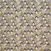 Burwick Grove Hyacinth by Kasmir Fabric 1402 100% Cotton USA 15,000 Wyzenbeek Double Rubs H: 13 4/8 inches, V:12 5/8 inches 54 - Fabric Carolina - Kasmir