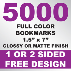 5000 Bookmarks 1.5x7
