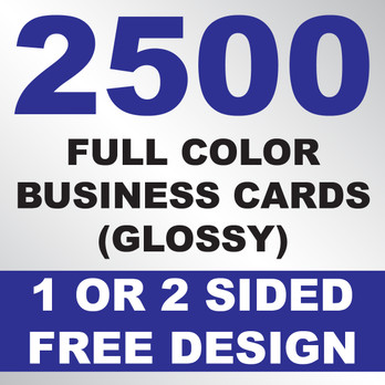 2500 business cards glossy kustomprintz image 1 colourmoves
