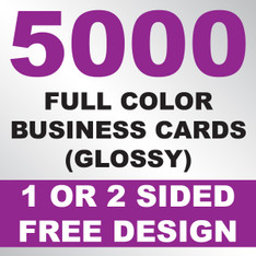 5000 Business Cards (Glossy)