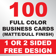 100 Business Cards (Matte)
