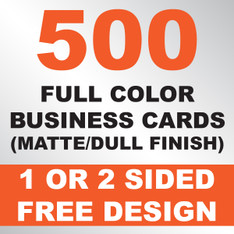 500 Business Cards (Matte)