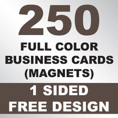 250 Business Cards (Magnets)