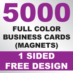 5000 Business Cards (Magnets)