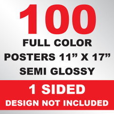 100 Posters 11x17