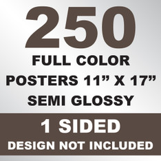 250 Posters 11x17