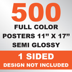 500 Posters 11x17