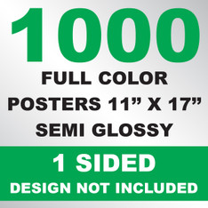 1000 Posters 11x17