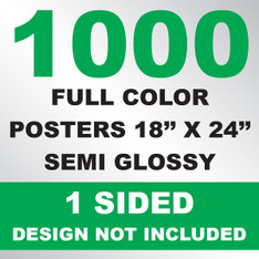 1000 Posters 18x24