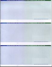 Multi-Color 3-Check Paper (CHKS613-BG)