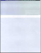 Multi-Color Top Check Paper (CHKS614-BG)